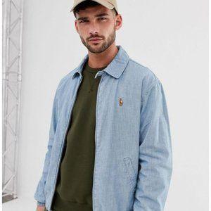 Polo Ralph Lauren Bayport Chambray Jacket Size M